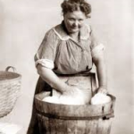 Washtub Lady